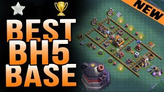 Best Builder Hall 5(BH5) Base Anti Giants,Raged Barbarians WITH REPLAYS/TESTED | Clash of Clans