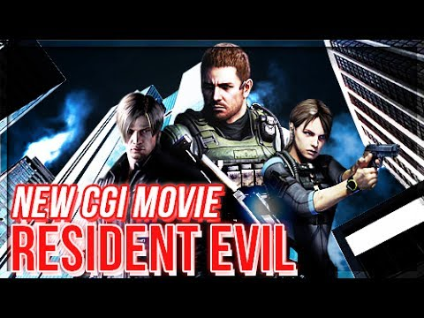 Jill Valentine May Lead - NEW Resident Evil CGI Movie confirmed.