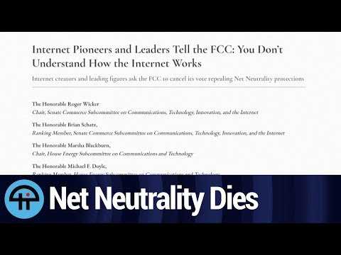 FCC Will Vote to End Net Neutrality on 12/14