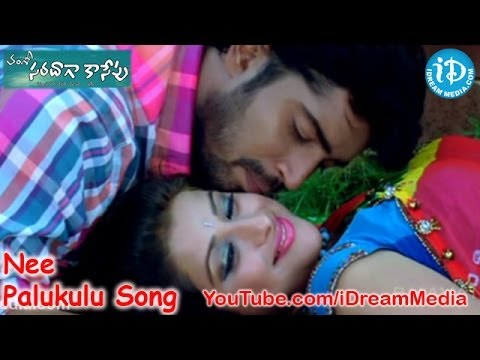Saradaga Kasepu Movie Songs - Nee Palukulu Song - Allari Naresh - Madhurima - Srinivas