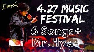 Dimash 6 songs + Mr. Hyde (2019.4.27 Chengdu Music Festival) || Healing Music Series