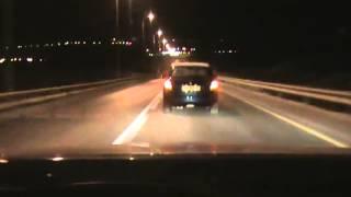 مطاردة  الشرطة الاسرائيلية - طولكرم 2013