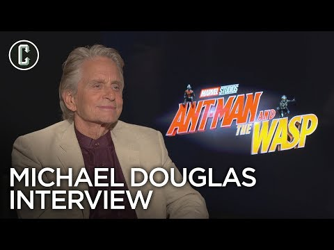 Michael Douglas on Why He Read the AntMan and the Wasp Script More Than Once