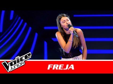 "Freja | ""We Don't Have To Take Our Clothes Off"" af Ella Eyre | Blind 1 | Voice Junior Danmark 2016"