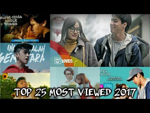 Top 25 Most Viewed Southeast Asia Songs 2017