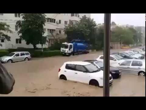 Cod galben de ploaie Tulcea. Inundații (ziaruldetulcea.ro)