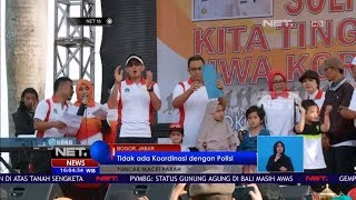 Kegiatan Tea Walk Korpri PNS Sebabkan Macet Panjang Di Kawasan Puncak Bogor - NET16