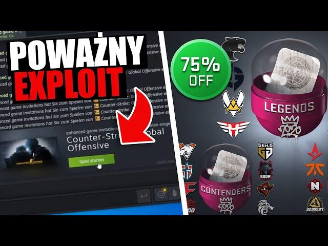CS:GO - Uważaj na ten Exploit, Rynek Steam, VAC Bany - Podsumowanie Tygodnia #15