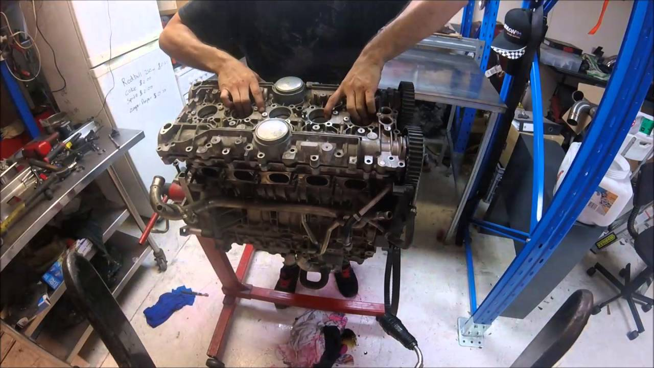 Focus St225 Xr5 Turbo Mondeo Cylinder Head Removal