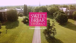 Sweet Briar College Commencement 2018
