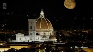 Cesare Cesarini Firenza sogna Флоренция ночью domra mandolina домра