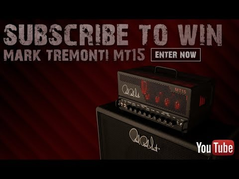 Subscribe to Win a PRS MT 15