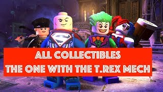 Lego DC Super Villains The One With the T.Rex Mech Free Play 100% all Minikits and Collectibles