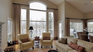 Video Tour of Modern Calgary Real Estate Property with Aerial Views - 49 Douglas Park Manor SE