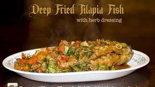 Deep Fried Tilapia Fish Recipe