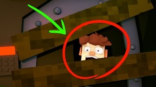 Minecraft | Hello Neighbor - WHO IS IN HIS BASEMENT? (Hello Neighbor in Minecraft)
