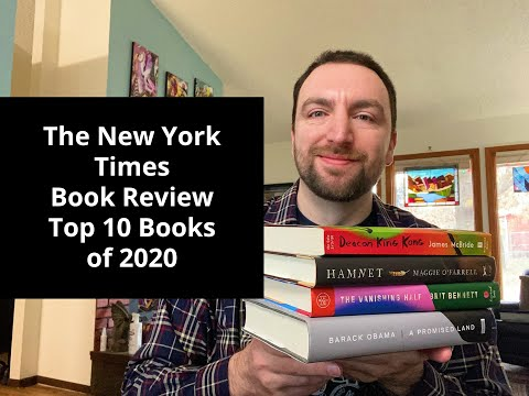 The New York Times Best Books of 2020 Reaction Video