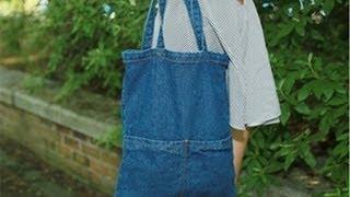 Обзор джинсовой сумки с Таобао!