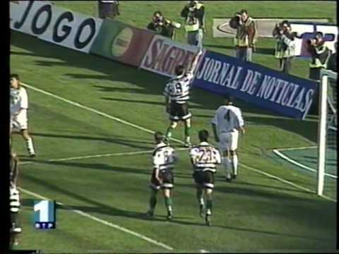 20J :: Sporting - 2 x Rio Ave - 0 de 1996/1997
