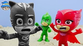 Find the color of the PJ Masks. PJ Masks character color play.