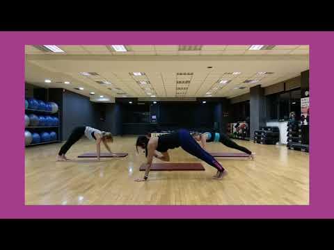 Pilates warm-up & 3 core exercises!!!By Natasa Filaiti 😉