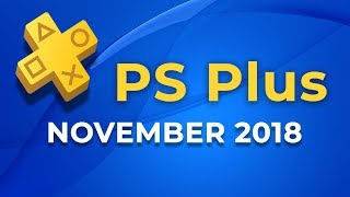 PS Plus - PS4-Spiele im November 2018