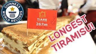 World's Longest Tiramisu - Guinness World Records