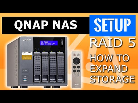 QNAP NAS  How to expand a RAID5 volume  QNAP drive expansion