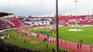 tifo derby 117 wydad vs raja casablanca ( HD )