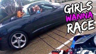 COOLEST GIRLS WANNA RACE SUPERBIKE!!