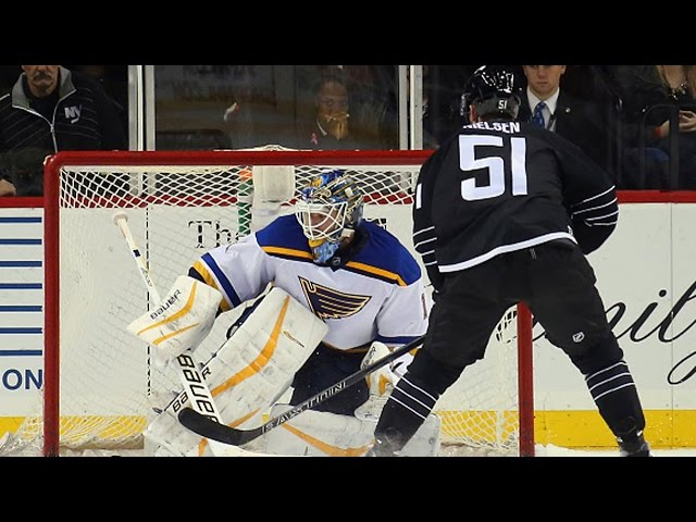 Shootout: Blues vs Islanders