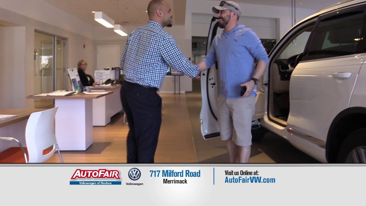 autofair volkswagen  nashua nh   car buying experience youtube