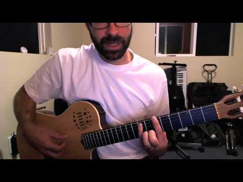 Come undone intro guitar tutorial - Duran Duran guitar lesson