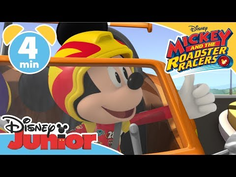 Mickey and the Roadster Racers  Tip Top Garage  Magical Moment ✨ Disney Junior UK