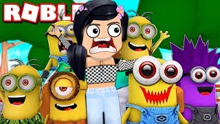 ROBLOX OBBY!!! SAVE THE WORLD FROM THE CRAZY MINION!