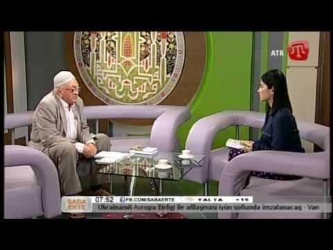 09 İyün (bozarğan) 2014 Saba Erte ATR-de Cafer Emiraliyev Qırımtatarca - 09/06/14 Crimean Tatar TV