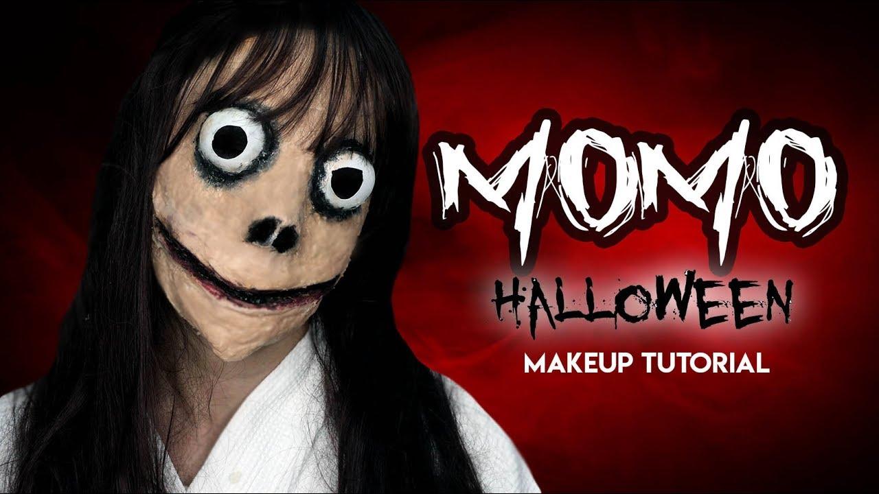 SCARY MOMO HALLOWEEN MAKEUP LOOK ( MAY PA ACTING NG KONTE! HAHHA) PHILIPPINES! | Nina Rayos TV 💋