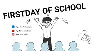 FIRST DAY OF SCHOOL ft. Asheru Animation | PINOY ANIMATION