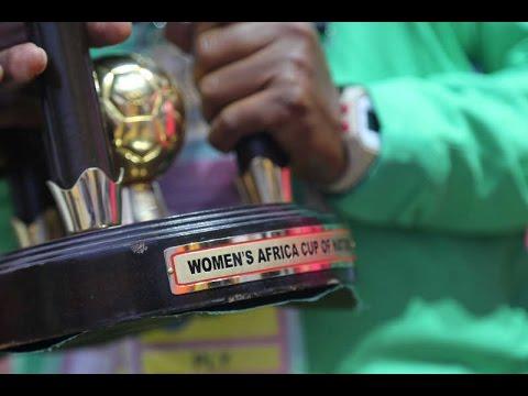 Nigeria vs. Cameroon Trophy Celebration (2016 AWCON Final)