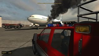 American Airport Firefighters Simulator - Cabin Fire!