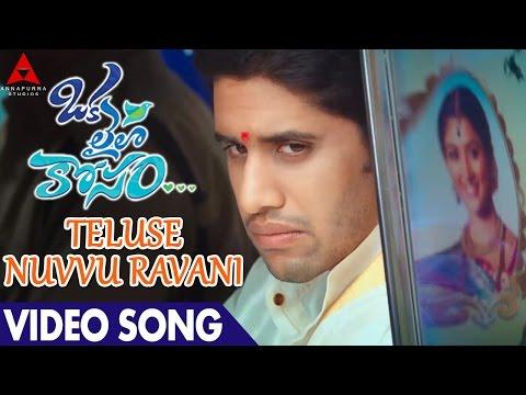 Teluse Nuvvu Ravani video Song || Naga Chaitanya, Pooja Hegde || Oka Laila Kosam