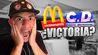 Juego Creative Destruction en McDonald's 🍟 - JoanFerPLAY