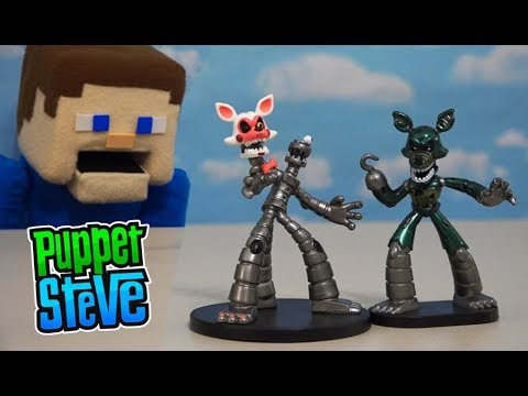 Five Nights at Freddy's HEROWORLD WAVE 2 - Mangle, Phantom Foxy Exclusive Fnaf Funko Unboxing thumbnail