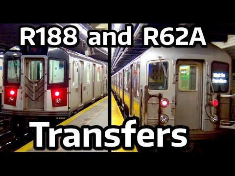 ⁴ᴷ R188 and R62A Transfer Train Action