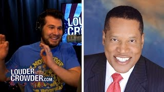 Larry Elder Talks #SJW and #BlackLivesMatter Racism | Louder With Crowder