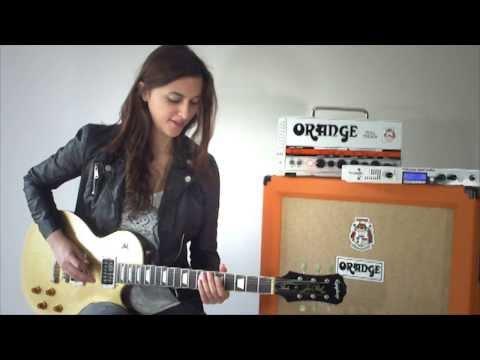Laura Cox – Apocalyptic Love – Intro & Solo – Slash cover