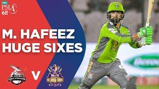 PSL2021 M. Hafeez Huge Sixes Lahore Qalandars Vs Quetta Gladiators Match 4 MG2T