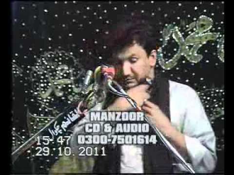 ZAKIR GHULAM ABBAS RATAN MAJLIS 1 ZOLHAJ 2011 AT JHANG SADAR