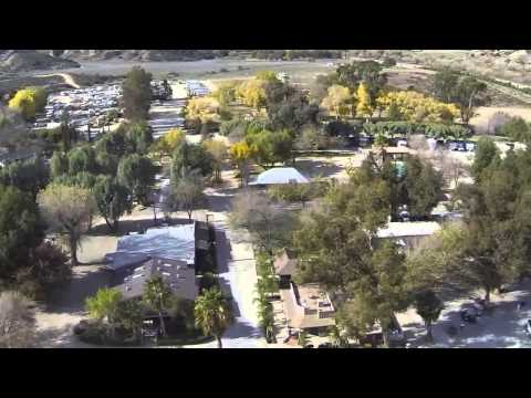 GoPro Aerial Tour Of Fisherman's Retreat   Fishing And Camping In Southern California