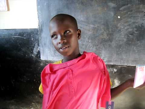 Change A Life Uganda Thank you Jovia to Celine.AVI